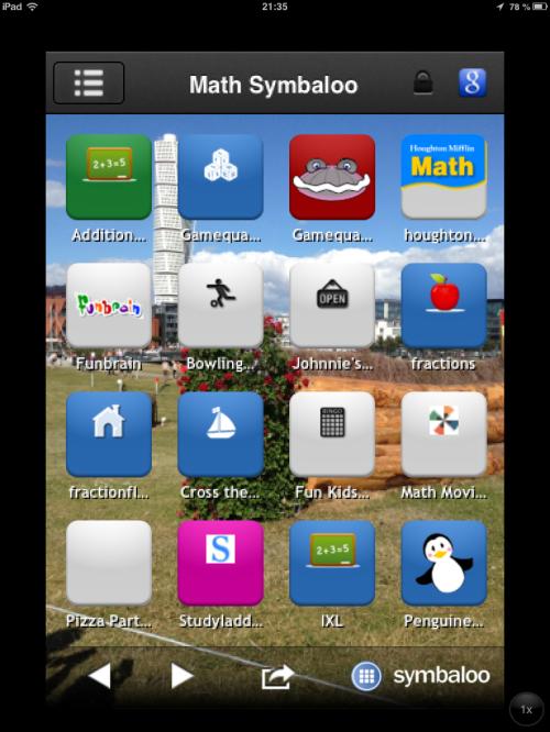 Symabloo en app med möjligheter
